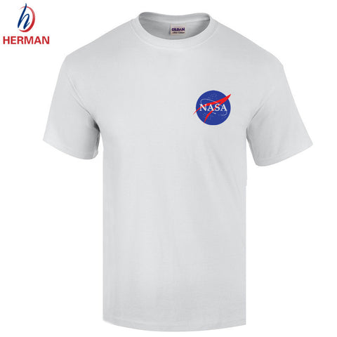 NASA T Shirts Men The Martian Matt Damon T shirt For Man 2016 O Neck Short sleeve IMPORT SPACE Tee Mens T-shirt,GT103 -  - 8
