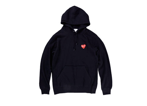 Red Heart Men Hoodies yung lean robe with hood black heart hoodie cotton Gold Heart Tops Unisex size s-xxxl -  - 8