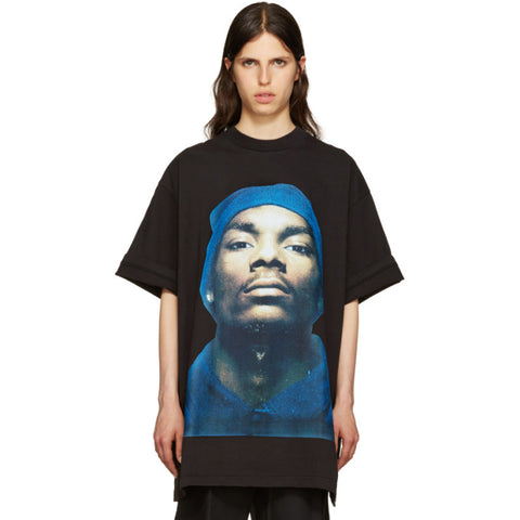 vetements snoop dogg photographic print American rapper oversize - RawSells