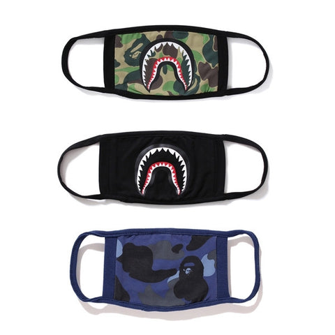 A bathing Ape Shark Camo Mask - RawSells