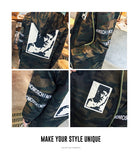 Bruce Lee Long camo Jacket