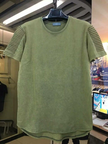 Thick oversize Tee Fall Neutral Colors: Army Green -