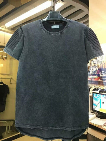 Thick oversize Tee Fall Neutral Colors: Dark Grey - RawSells