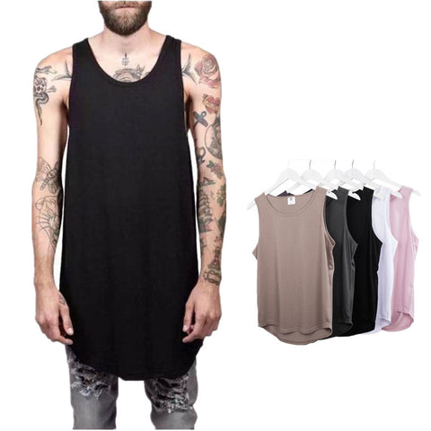 Men Fashion Summer Style Kanye West Tank top Fear of god Yeezy Season 3 Tank Top 2015 Men's Fashion Justin Bieber Gym tank tops Sleeveless - RawSells