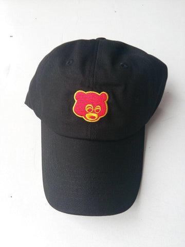 RARE Kanye West Ye college dropout bear Hat EXCLUSIVE Release Limited Unisex Tan Limited cap I Feel Like Pablo Yeezy drake caps - RawSells