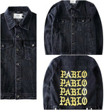Dark Denim Jacket I FEEL like PABLO TLOP oversized Kanye West yeezy jacket kim kardashian -  - 6