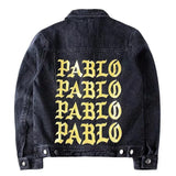Dark Denim Jacket I FEEL like PABLO TLOP oversized Kanye West yeezy jacket kim kardashian -  - 3