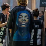 vetements snoop dogg photographic print American rapper oversize - RawSells - 2