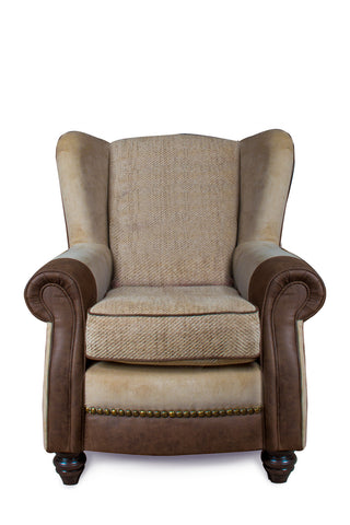 Marquis Fabric Armchair Wing Back
