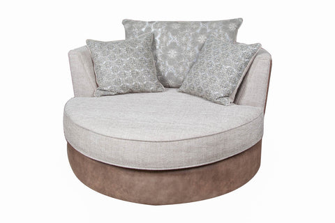 Seattle Fabric Swivel Chair
