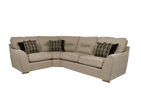 Avalon Fabric Left Hand Corner Sofa