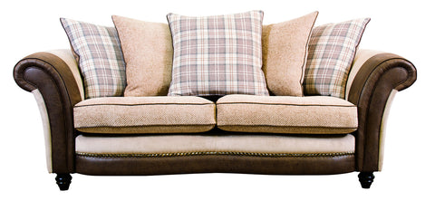 Marquis Fabric 3 Seater Scatter Back Sofa