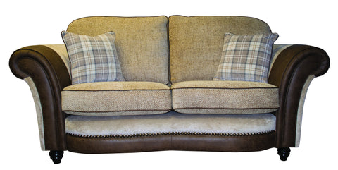 Marquis Fabric 3 Seater Standard Back Sofa