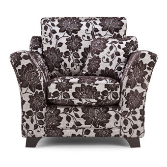 Sheraton Floral Fabric Armchair