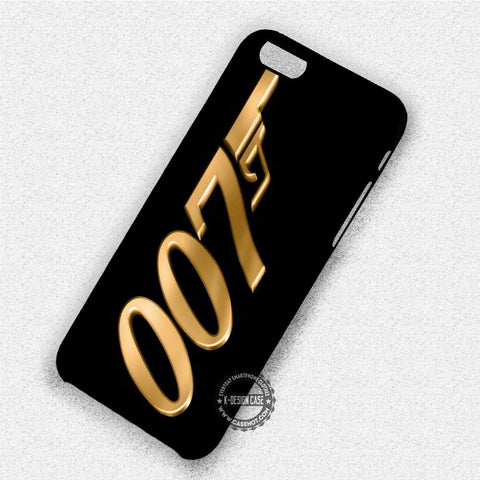 Gold James Bonde - iPhone X 8+ 7 6s SE Cases & Covers