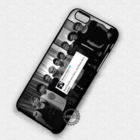 5 Seconds of Summer One Direction Quote - iPhone 7 6 5 SE Cases & Covers