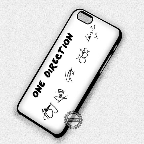 One Direction Signatures - iPhone 7 6 Plus 5c 5s SE Cases & Covers