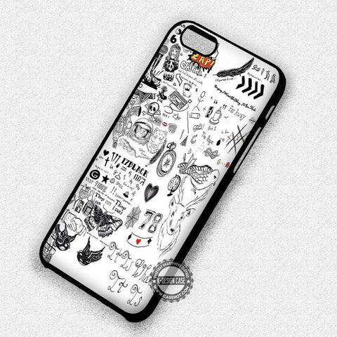 One Direction Tattoos - iPhone 7 6 Plus 5c 5s SE Cases & Covers