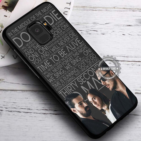 30 Seconds To Mars - Samsung Galaxy S8 S7 S6 Note 8 Cases & Covers #SamsungS9