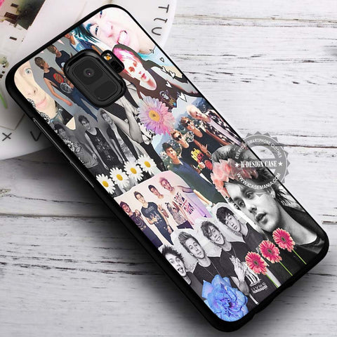 5SOS Collage Band - Samsung Galaxy S8 S7 S6 Note 8 Cases & Covers #SamsungS9