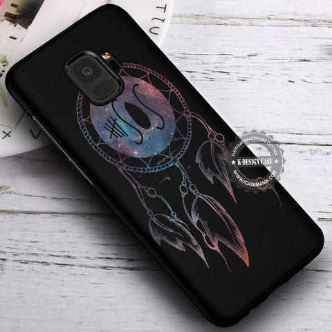 5SOS Dreamcatcher Nebula - Samsung Galaxy S8 S7 S6 Note 8 Cases & Covers #SamsungS9
