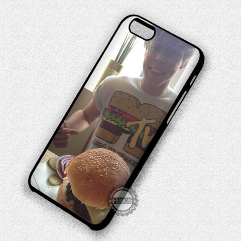 Ashton Irwin and Hamburger - iPhone 7 Plus 6S SE Cases & Covers