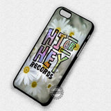 Hi or Hey Records - iPhone 7 6 Plus 5c 5s SE Cases & Covers
