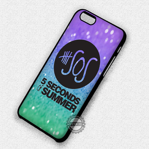 Logo Glitter Band - iPhone 7 6 Plus 5c 5s SE Cases & Covers