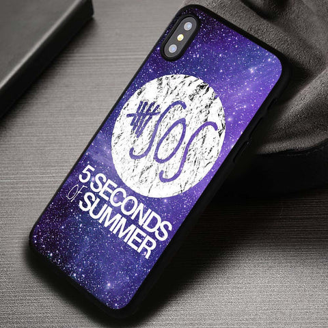 5 Seconds of Summer Galaxy 5SOS Band - iPhone X Case