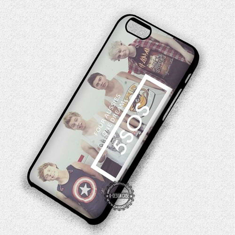 5 Seconds of Summer Quotes Logo - iPhone 7 6 5 SE Cases & Covers