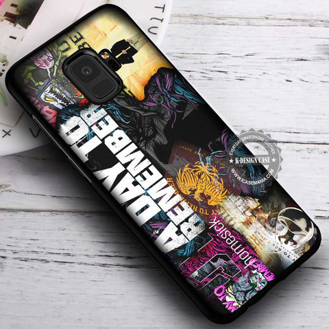 A Day To Remember Collage - Samsung Galaxy S8 S7 S6 Note 8 Cases & Covers #SamsungS9