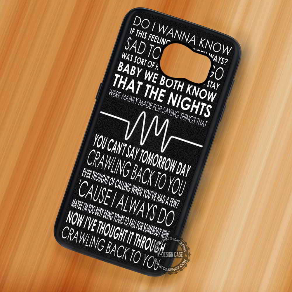 Lyrics Arctic Monkeys Quotes - Samsung Galaxy S7 S6 S5 Note 7 Cases & Covers