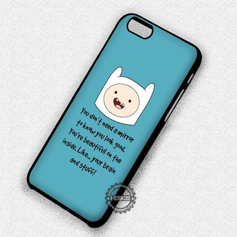 AT Cartoon Quote Jack Adventure Time - iPhone 7 6s 5c 4s SE Cases & Covers