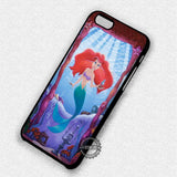 A Beautiful Mermaid In The Ocean Ariel - iPhone 7 6 5 SE Cases & Covers