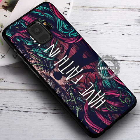 A Day To Remember Have Faith In Me - Samsung Galaxy S8 S7 S6 Note 8 Cases & Covers #SamsungS9