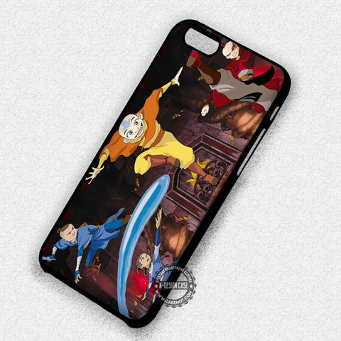 Aang Katara Zuko Sokka Avatar - iPhone 7+ 6S 5 SE Cases & Covers