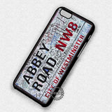Abbey Road Street Sign - iPhone 7 6 Plus 5c 5s SE Cases & Covers - samsungiphonecases