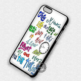 About You Lyric - iPhone 7 6 Plus 5c 5s SE Cases & Covers - samsungiphonecases