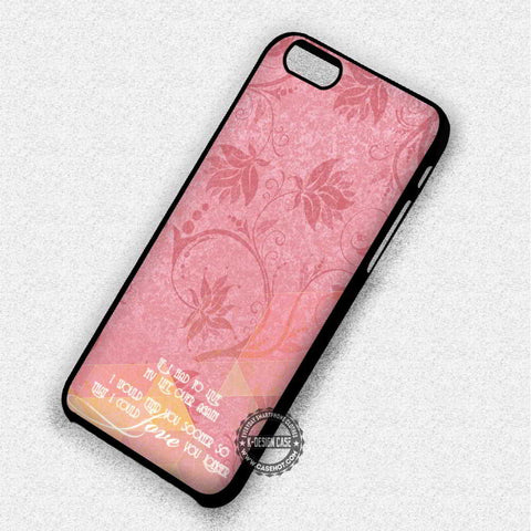 Abstract Pink Flower - iPhone 7 Plus 6 SE Cases & Covers