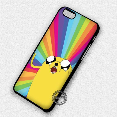 Adventure Time Rainbow Jake - iPhone 7 6s 5c 4s SE Cases & Covers