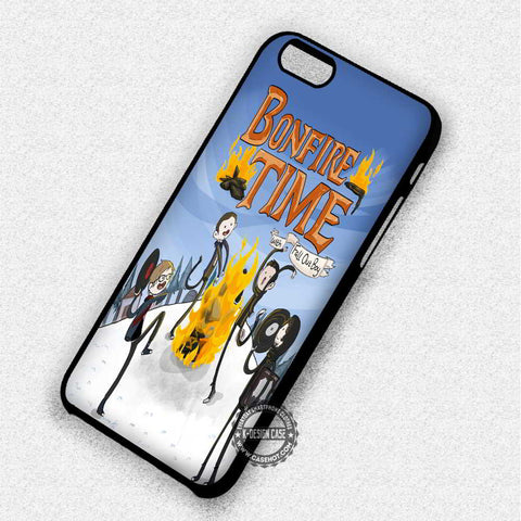 Adventure Time Bonfire Fall Out Boy - iPhone 7 6 5 SE Cases & Covers