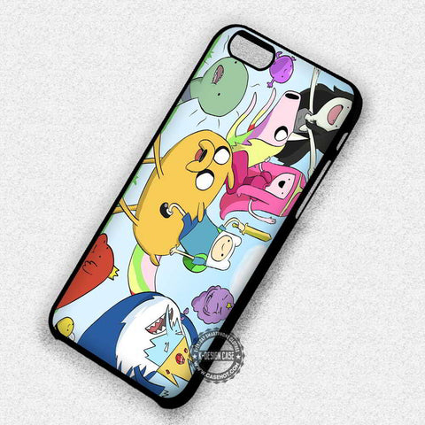 Adventure Time Character Finn Jake - iPhone 7+ 6S 5 SE Cases & Covers