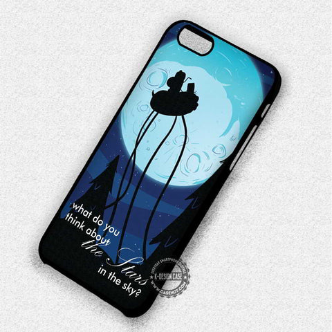 Adventure Time Quote Moon Jake - iPhone 7 6 5 SE Cases & Covers