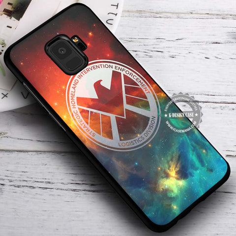 Agents of Shield Marvel - Samsung Galaxy S8 S7 S6 Note 8 Cases & Covers #SamsungS9