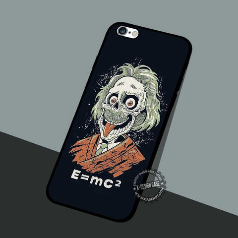 Albert Einstein Funny - iPhone 7 6 5 SE Cases & Covers - samsungiphonecases