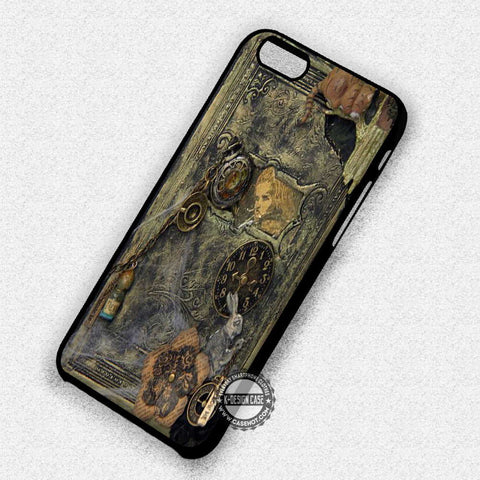 Alice Steampunk Book - iPhone 7 Plus 7 6S  SE Cases & Covers - samsungiphonecases