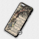 Alice Book Art Vintage - iPhone 7 Plus 7 6S  SE Cases & Covers - samsungiphonecases