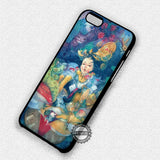 Alice In Wonderland Painting - iPhone 7 Plus 7 6S  SE Cases & Covers - samsungiphonecases