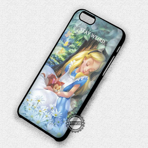 Alice Stay Weird - iPhone 7 Plus 7 6S  SE Cases & Covers - samsungiphonecases