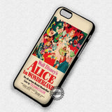 Alice Vintage Classic Poster - iPhone 7 Plus 7 6S  SE Cases & Covers - samsungiphonecases